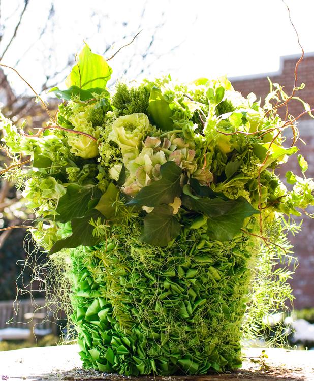 Philadelphia 09_green bouquet