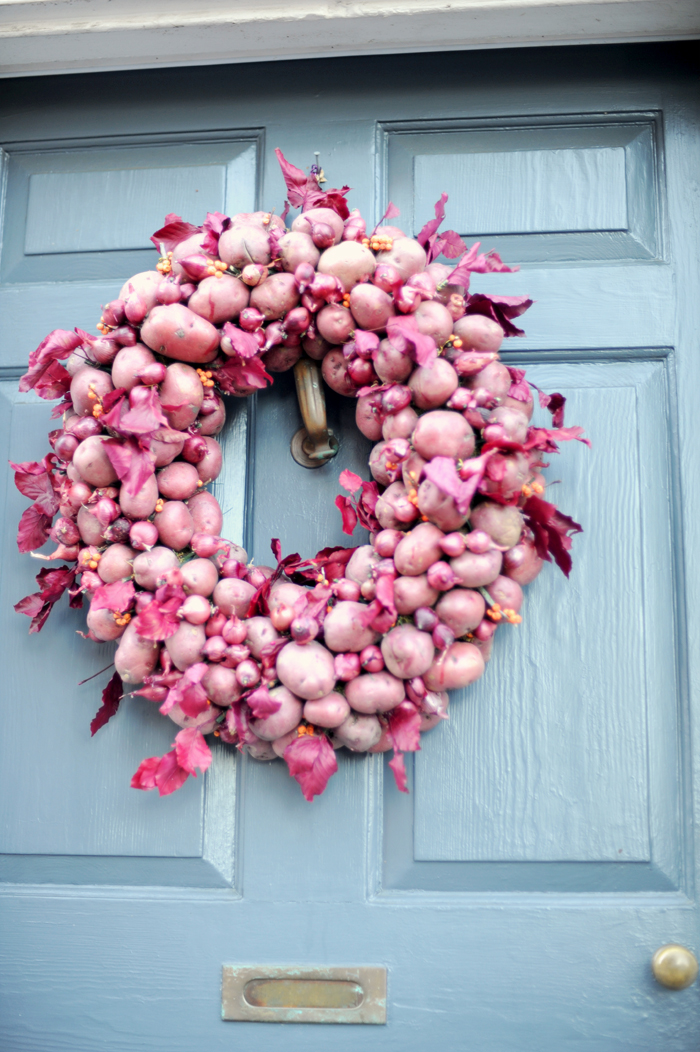 Potato wreath